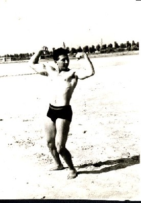 Istvan Javorek At Age 22 Black Sea Mamaia Resort