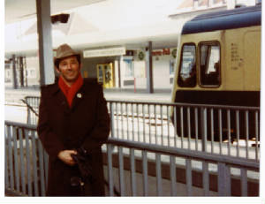 Leaving Germany in 1983 Garmish PartenkirchenTrainStation
