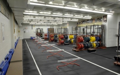 JCCC Sports Conditioning Center Barbell Room