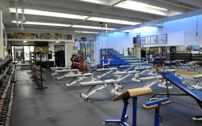 JCCC Sports Conditioning Center Dumbbell Room