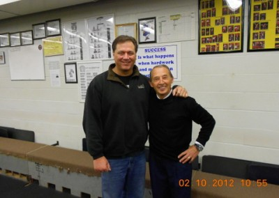 Randy Barnes and me at JCCC conditioning Center Fall 2012
